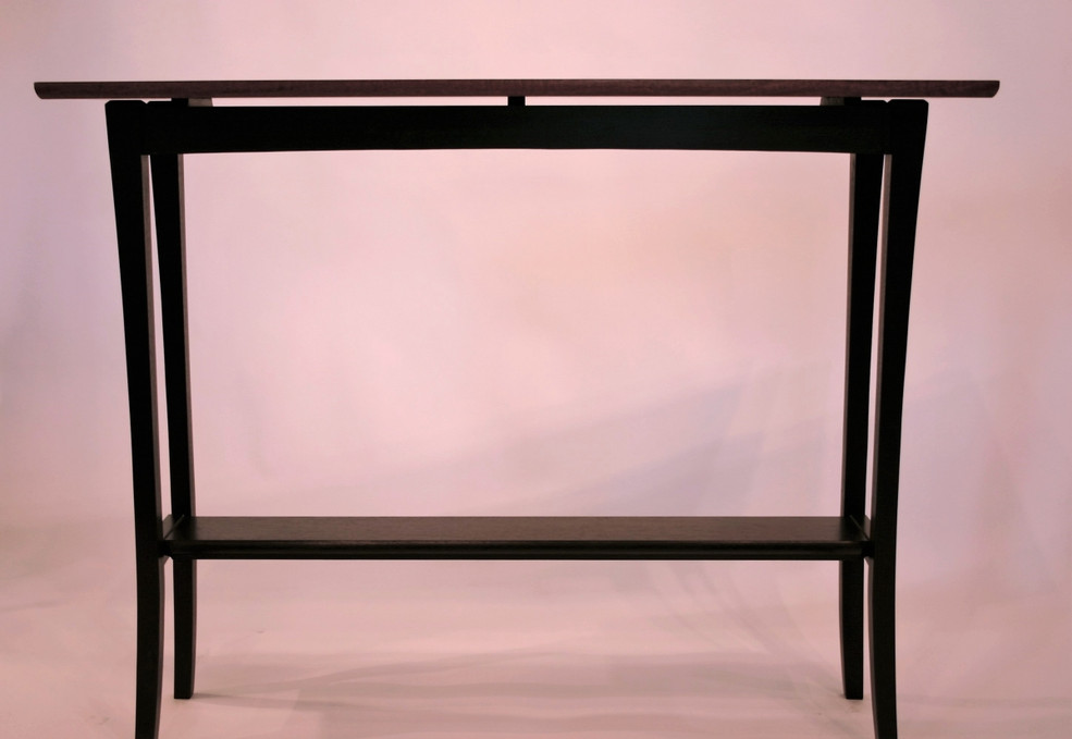 Floating top sofa table