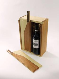 Wine Gift Box - open