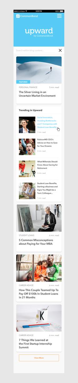 Blog - Home - mobile