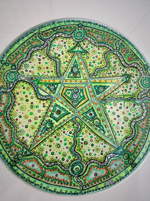 Mandala Groen