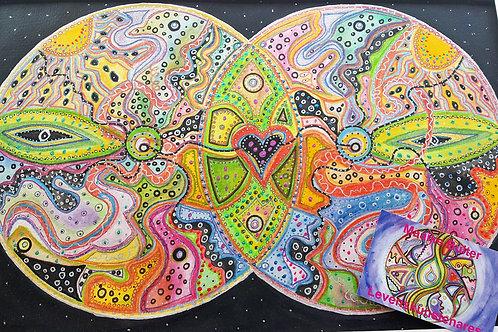 Dubbele Mandala-Love
