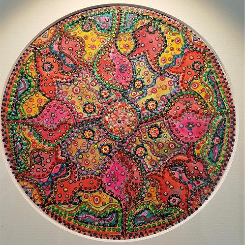 Mandala tekenen 7-chakra's Cursus ( 28-avonden) Min. 4 pers.