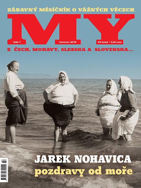 MY - ČERVENEC 2018