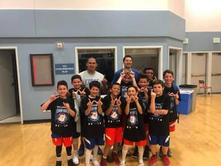 10u wins their first tournament