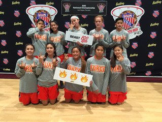 Force National 7th Girls @ LV Nationals!