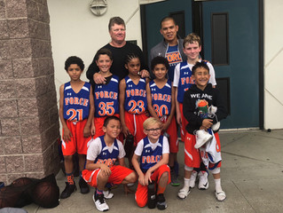 4th grade boy finish 2nd place in Bay City Fall League