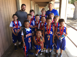 3rd Grade Boys with hardware at NP FORCE HEAT WAVE