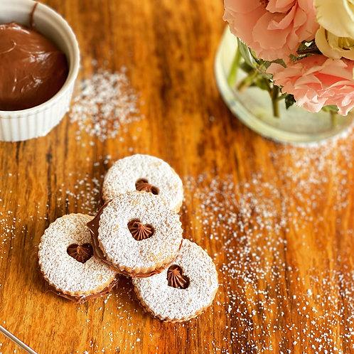 Nutella Alfajores x 12