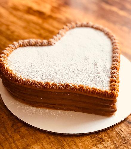 Valentine Alfajor Cake