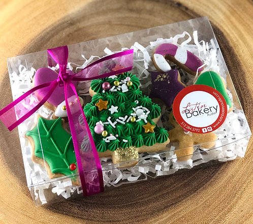 Assorted Mini Iced Cookies x 7