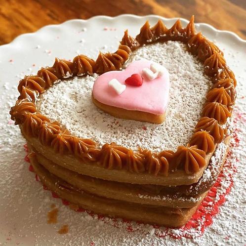 Valentine Mini Alfajor Cake