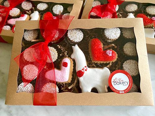 Valentine's Llama Box