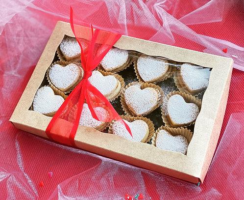 Heart Alfajores Box