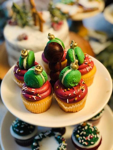 Ornament Vanilla Cupcake (Min. 12)