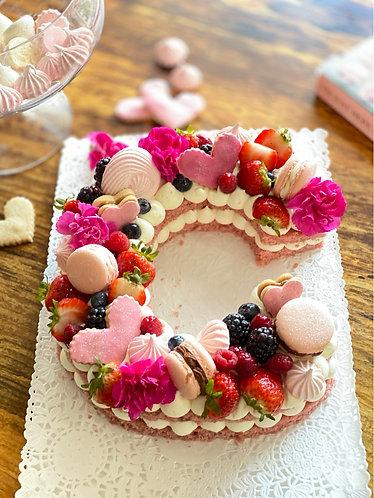 Single Cake (Letter/Number)