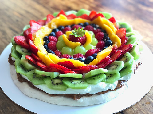 "Fruit Pavlova 10"""