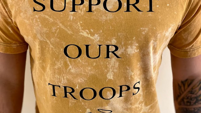 support troops shirt special edition