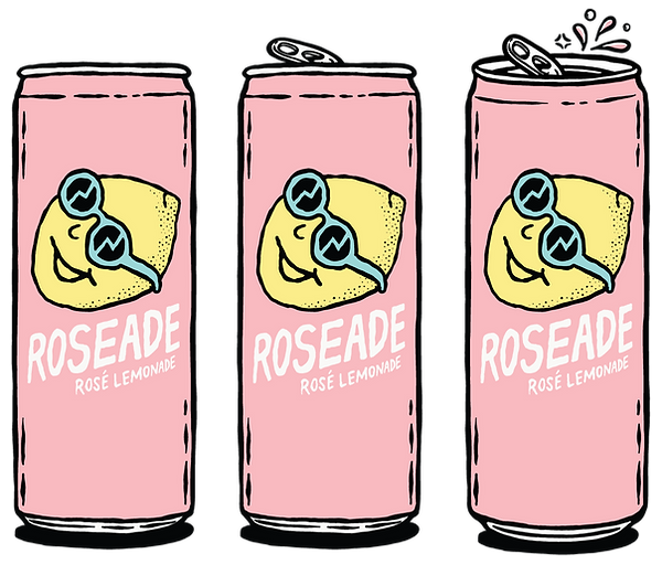 roseade-3-cans.png