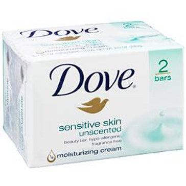 Dove Bar Soap, Sensitive Skin
