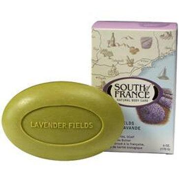 South of France Milled Bar Soap, Lavender