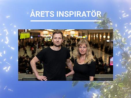 Susanna Elfors och Andreas Sidkvist vinnare av Miljömålspriset i kategorin Årets inspiratör