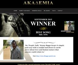 Akademia September Award 2015