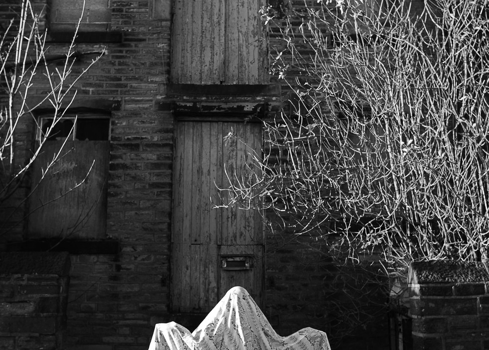 derelict house ghost