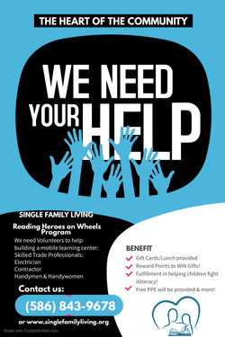 Copy of We Need Your Help Poster Flyer - Made with PosterMyWall