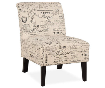 Paris Script Chair