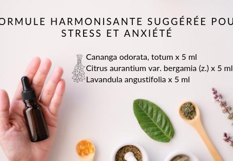 Des huiles essentielles aux propriétés «harmonisantes» ?