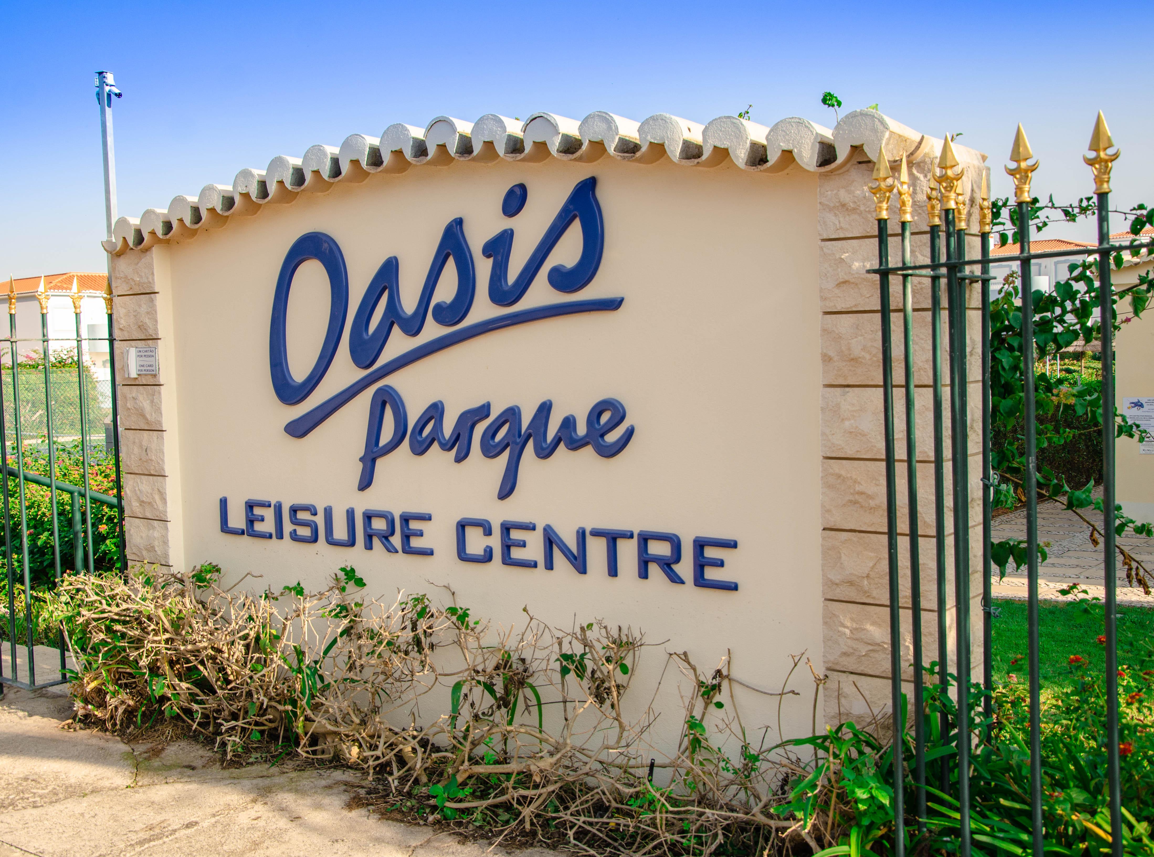 Oasis Parque Entrance