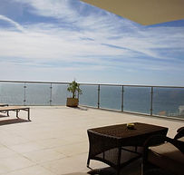 Stunning Sea View from the 56 sqm Balcon