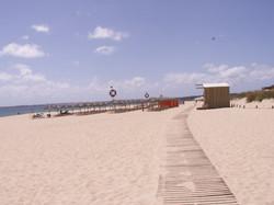 Alvor Beach boardwalk