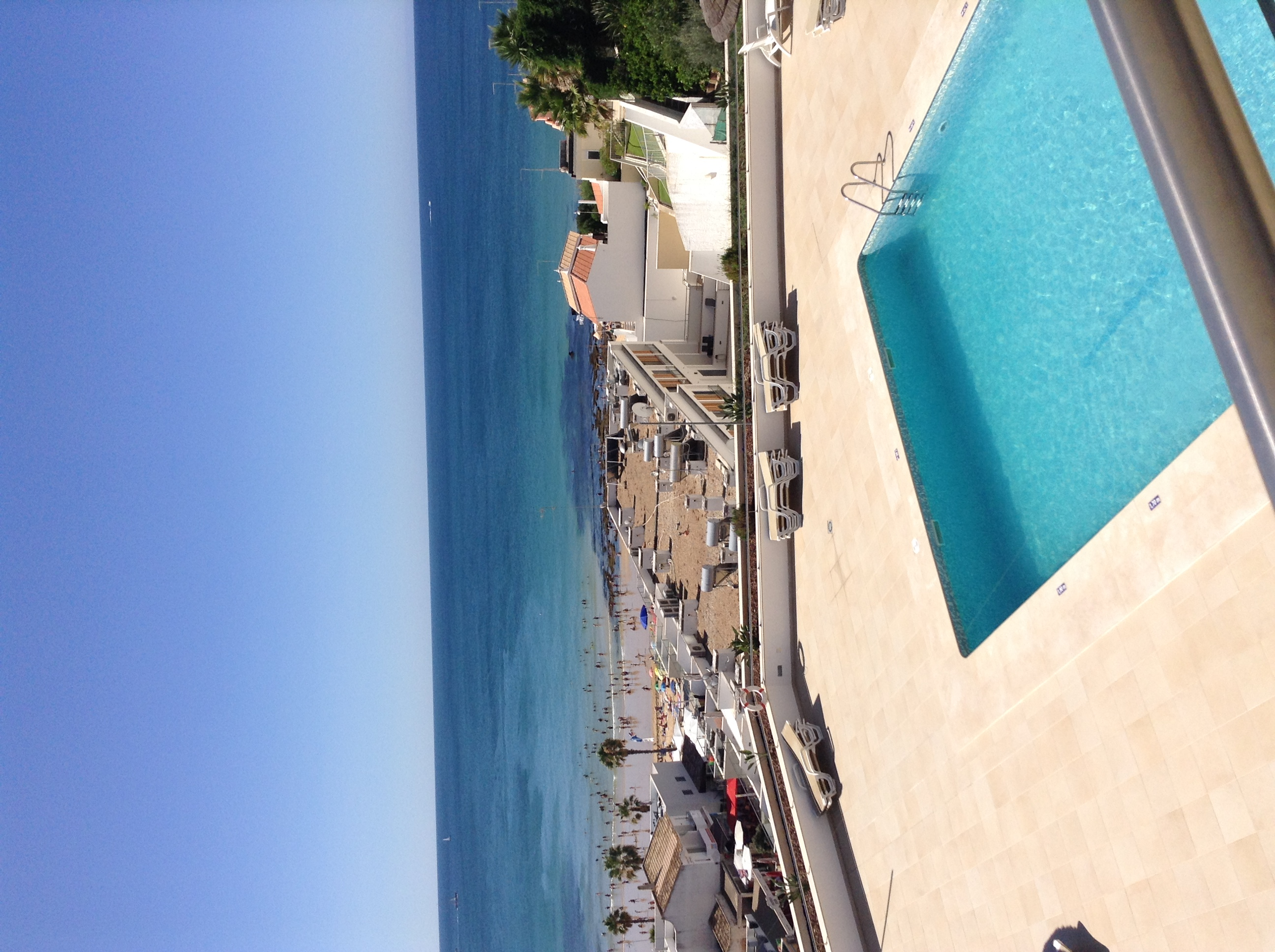 AT071 Sea & Pool View from Balcony