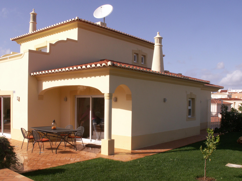AT016 Looking at the rear of the villa