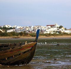 alvor from sea