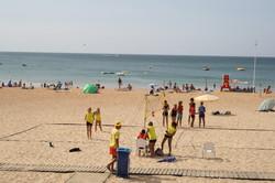 Playing Games on Albuferia Beach
