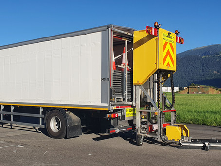 FALCON Automated Cone Laying Machine completes on-road trials