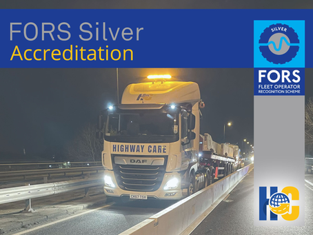 FORS Silver Accreditation success