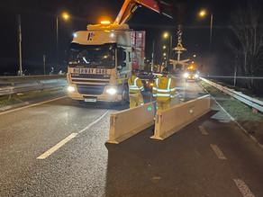 Volker Highways collaborate with Highway Care on bridge repairs