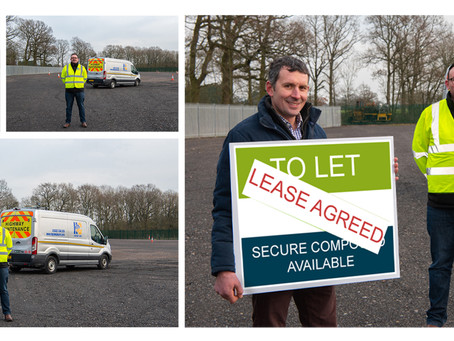 Highway Care Signs Lease Agreement at Upton Business Centre