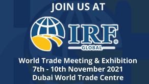 Highway Care International LIVE at IRF World Trade Meeting & Exhibition - Dubai 2021