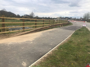 Tertu Case Study: North Horley Eastern Access Road, with Littlewoods Fencing