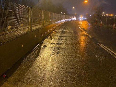 BG800 barrier and fence case study: Phase 1, Great Yarmouth Third River Crossing project