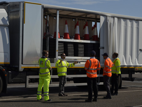 Highway Care trial Automated Cone Laying Machine to industry leaders
