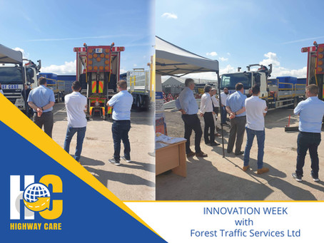 Highway Care attend Forest Traffic Services LTD - Innovation Week