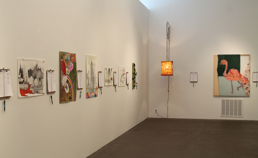 View of Co-Art 2018
