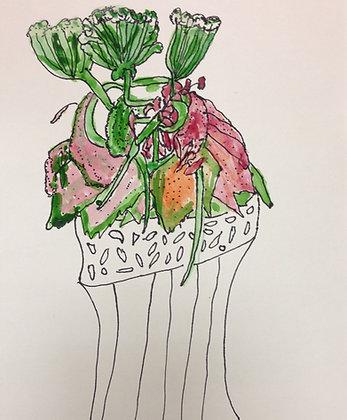 """Janet Harrison- """"Flower Study"""""""