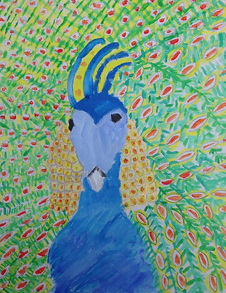 "Jocelyn Triggle- ""Peacock"""