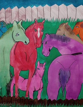 """Alex Schmitt- """"Horse Talk"""""""